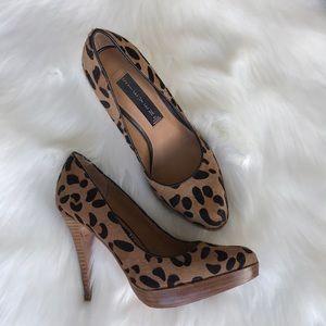 Steve Madden Animal print high heels